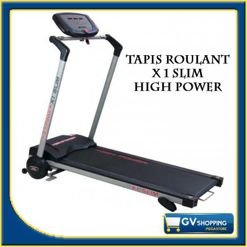 NEW TAPIS ROULANT TAPPETO HIGH POWER X 1 SLIM RICHIUDIBILE SALVASPAZIO CORSA NEW  eBay