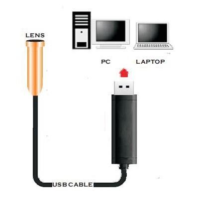 sonda telecamera endoscopica 10 mt 4 led cavo flessibile usb 10 metri ispezione ebay. Black Bedroom Furniture Sets. Home Design Ideas