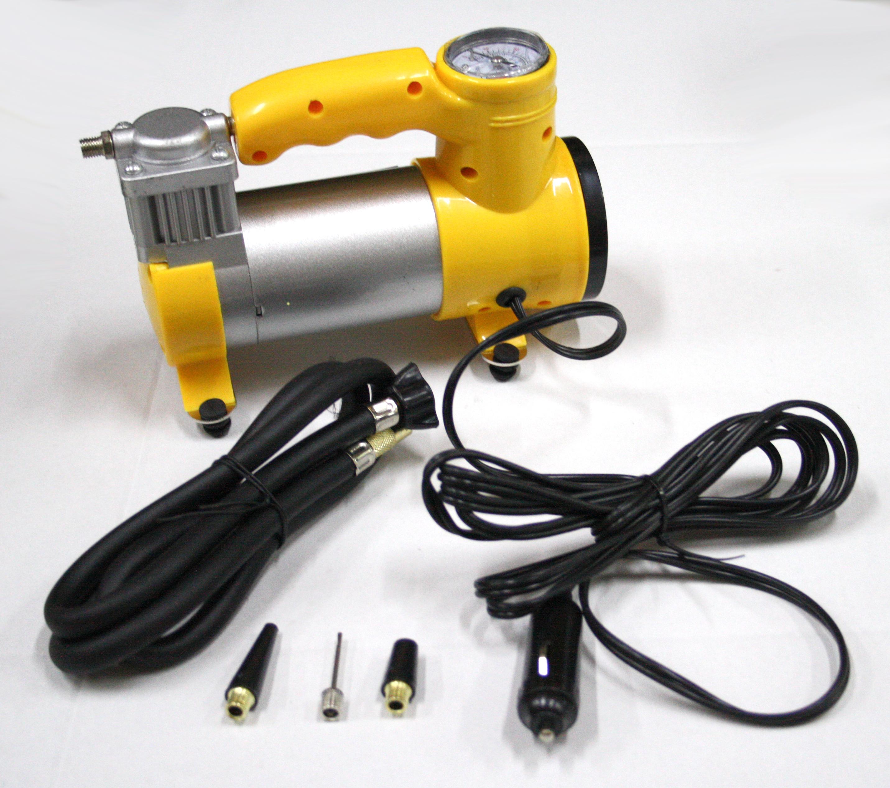 Compressore portatile presa 12v accendisigari per auto for Mini compressore portatile per auto moto bici 12v professionale accendisigari